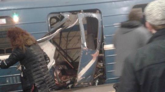 Nổ bom kép trong hệ thống tàu điện ngầm ở Saint Petersburg