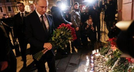 Vụ tấn công tàu điện ngầm ở St. Petersburg là bài học cho cả phương Tây