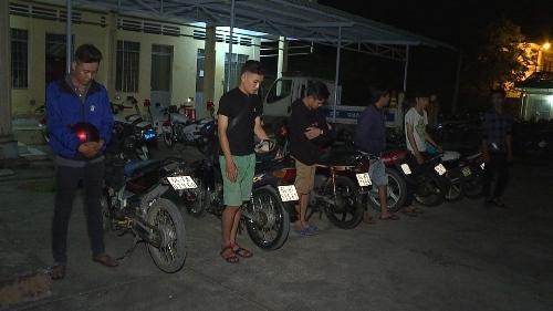 Nổ súng ngăn chặn nhóm thanh niên tụ tập đua xe