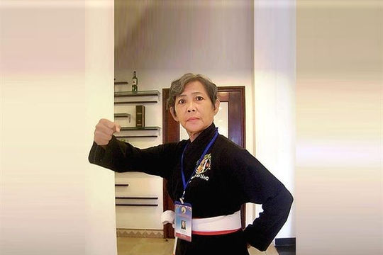 Nhà giáo ưu tú, võ sư  Nguyễn Thu Vân từ trần