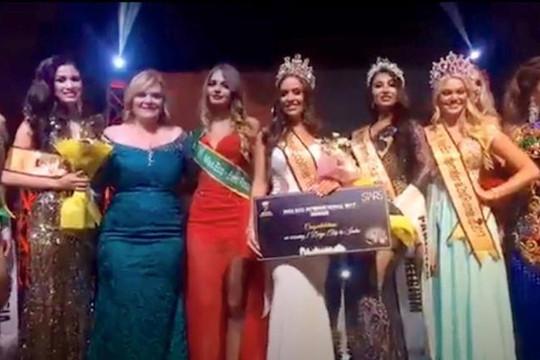 Nguyễn Thị Thành giành ngôi vị Á hậu 3 Miss Eco International 2017