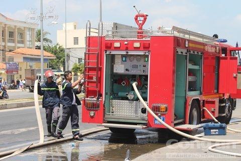 Xác định nhóm người gây ra vụ cháy tại Công ty Kwong Lung Meko