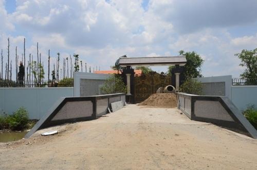 Dừng xây dựng biệt thự không phép của TGĐ cấp nước Sóc Trăng