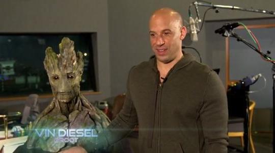 Vệ binh dải ngân hà: Vin Diesel chia sẻ về vai diễn chỉ một câu thoại