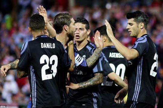 Real Madrid chỉ cần 7 điểm nữa là vô địch