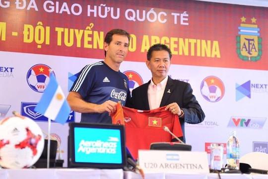 HLV Hoàng Anh Tuấn nói gì trước trận đấu với U.20 Argentina?