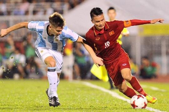 U.20 Argentina tận dụng tối đa thời gian tập huấn tại Việt Nam