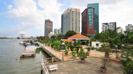 Mãi vẫn chưa quy hoạch xong khu đất vàng công viên cảng Bạch Đằng