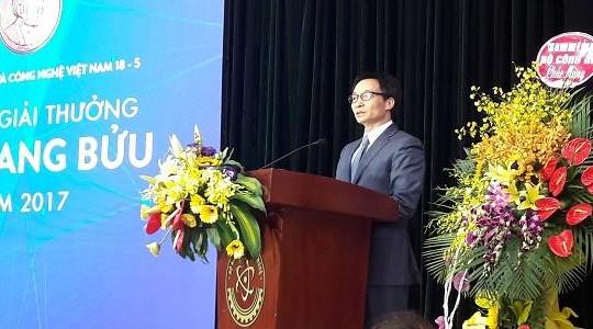 Phó thủ tướng Vũ Đức Đam: Việt Nam chỉ đi lên khi KHCN phát triển