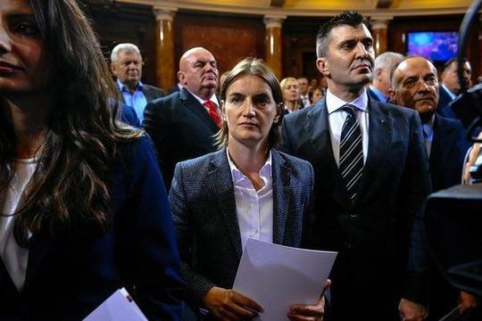Thủ tướng đồng tính đầu tiên của Serbia