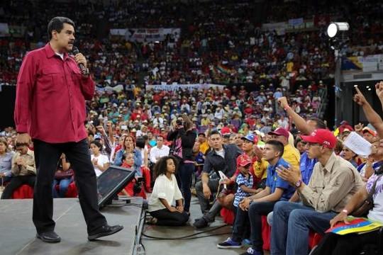 Tổng thống Venezuela cáo buộc phe đối lập âm mưu lật đổ chính quyền