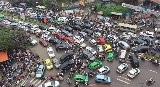 Hà Nội sẽ cấm xe máy vào nội thành từ năm 2030