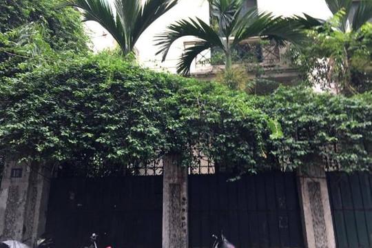 Biệt thự ông Hoàng Văn Nghiên từng ở bị bỏ hoang