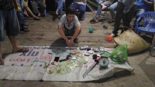 Triệt phá tụ điểm đánh bạc quy mô lớn tại trang trại cá ở Cần Thơ