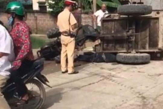 Công an Hà Nội điều tra vụ tài xế công nông tử vong