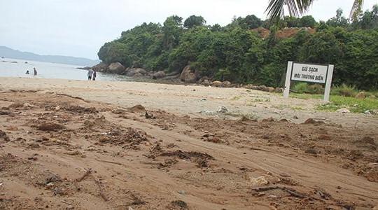 Sơn Trà: Khu vực xây biệt thự trái phép sạt lở bùn xuống biển