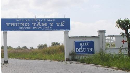 Cà Mau thu hồi quyết định bổ nhiệm tại Trung tâm Y tế huyện Ngọc Hiển