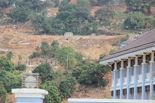 Đà Nẵng: Đào mương, xây hàng ngàn mét kè chống sạt lở ở 40 móng biệt thự
