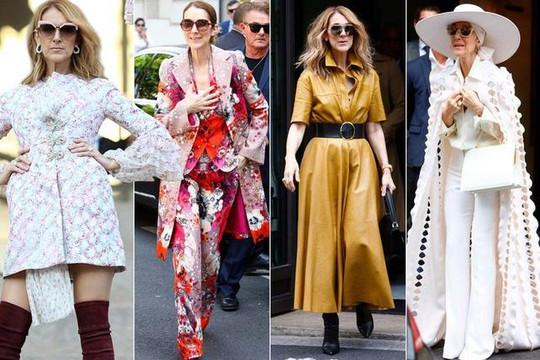 Ở tuổi 49, Celine Dion trở thành biểu tượng thời trang