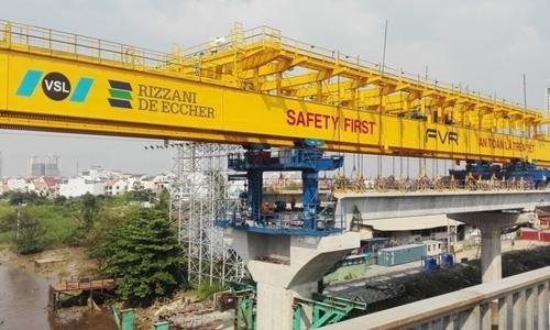 Tuyến metro số 1 của TP.HCM xin thêm 500 tỉ đồng để trả nợ nhà thầu