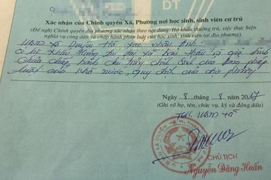 Vụ bút phê 'xấu' tại Hà Nội: Lãnh đạo xã Duyên Hà đến nhà dân xin lỗi