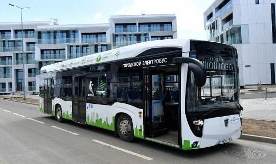 Thủ đô Moscow sẽ dùng xe buýt điện thay xe diesel