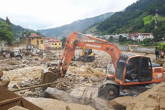 Đà Nẵng hỗ trợ Yên Bái, Lai Châu 1,5 tỉ đồng khắc phục thiên tai