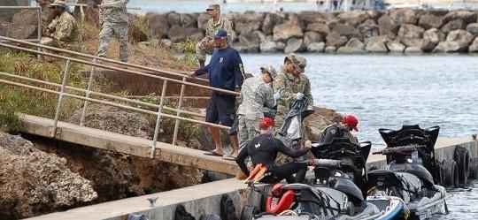 Trực thăng Ó Đen Mỹ rơi ngoài khơi Hawaii, mất tích 5 lính