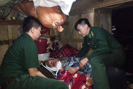 BĐBP Hà Tĩnh cứu một ngư dân bị trọng thương trên biển