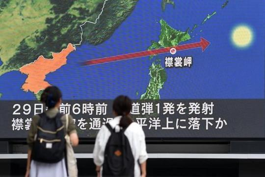Phản ứng của Nga và Trung Quốc sau vụ Triều Tiên phóng tên lửa