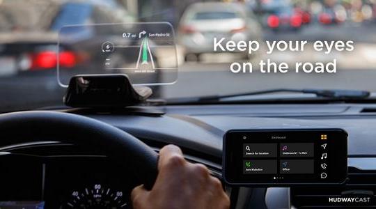 Màn hình hiển thị thay thế đôi mắt khi lái xe