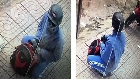 Phát hiện xe máy nghi của kẻ cướp ngân hàng táo tợn ở Đồng Nai