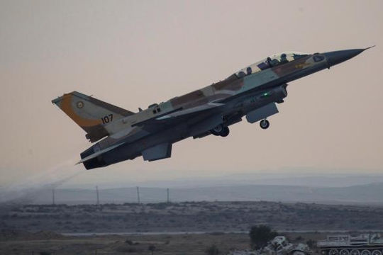 Chiến đấu cơ Israel đập tan cơ sở vũ khí hóa học của Syria