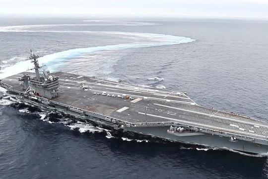 Mỹ điều tàu sân bay, sơ tán quân đội đối phó thảm họa
