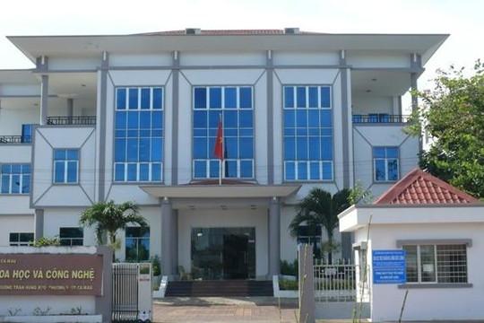 Sai phạm tài chính hơn 850 triệu đồng tại Sở Khoa học - Công nghệ tỉnh Cà Mau