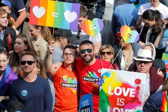 Úc: Diễu hành ủng hộ hôn nhân đồng giới đông kỷ lục