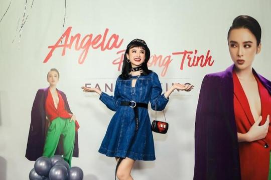 Angela Phương Trinh điệu đà trong buổi gặp fan