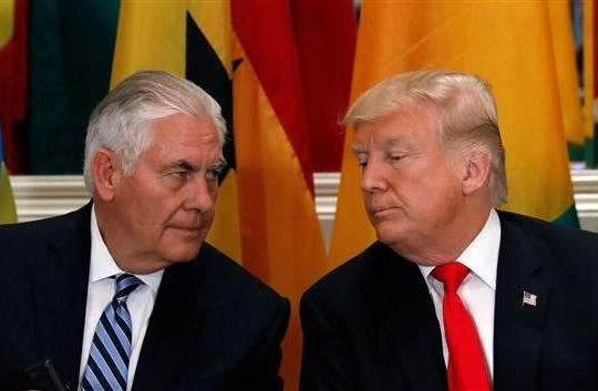 Ngoại trưởng Mỹ thề không từ chức bất chấp bị cáo buộc nói xấu Tổng thống