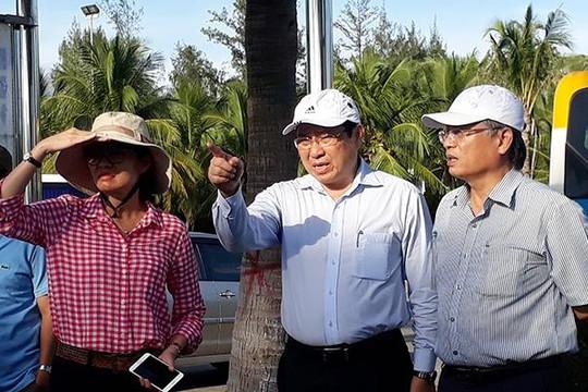 Chủ tịch Đà Nẵng đi hiện trường đốc thúc chuẩn bị APEC
