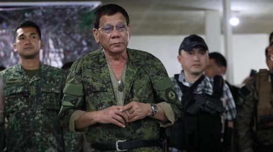Tổng thống Duterte tuyên bố đã tái chiếm thành phố Marawi khỏi tay IS
