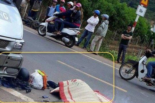 Tử nạn trên đường đi phượt do 2 xe máy trong nhóm vướng tay lái
