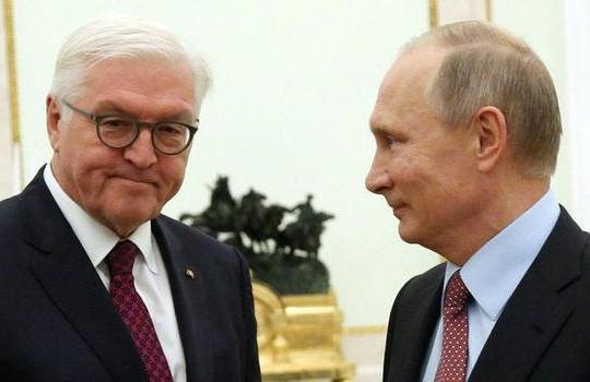 Tổng thống Đức muốn ông Putin 'cải thiện quan hệ' với bà Merkel