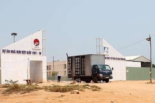 Nhà máy bột giấy VNT19 cam kết dừng hoạt động nếu gây ô nhiễm môi trường