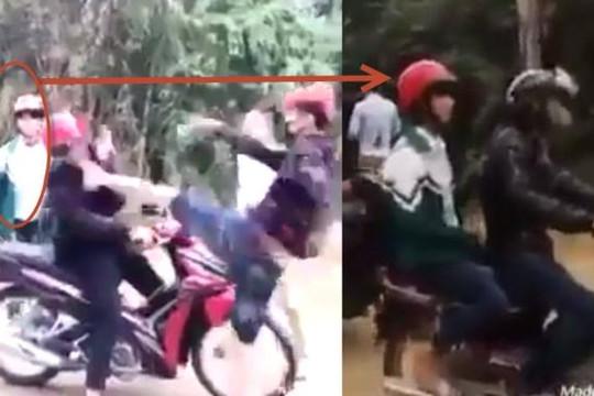 Bỏ bạn trai bị 2 côn đồ đánh hội đồng, nữ sinh Việt leo lên xe khác nói chạy đi