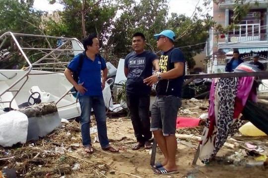 Thủ tướng biểu dương người chạy ca nô ra biển cứu người trong bão