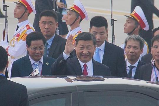 Chủ tịch Tập Cận Bình không dùng xe riêng đón ở sân bay Đà Nẵng