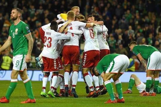 Đan Mạch đoạt vé dự World Cup, người Ý nhận thêm nỗi xấu hổ