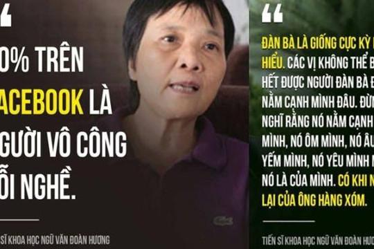 Đám quần chúng và những phát ngôn gây tranh cãi của tiến sĩ Đoàn Hương