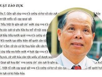 Bộ Giáo dục lên tiếng về 'đề xuất Tiếq Việt' gây sốc dư luận