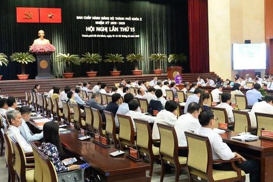 TP.HCM kỷ luật nhiều cán bộ thuộc diện Thành ủy quản lý